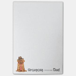 Dogue de Bordeaux Dad Post-it® Notes