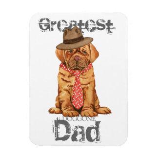 Dogue de Bordeaux Dad Rectangular Photo Magnet
