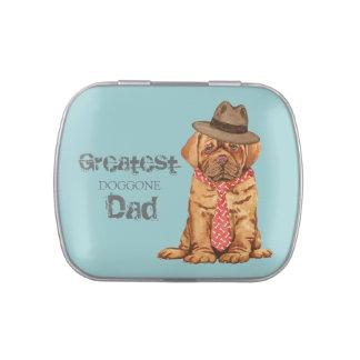 Dogue de Bordeaux Dad Candy Tin