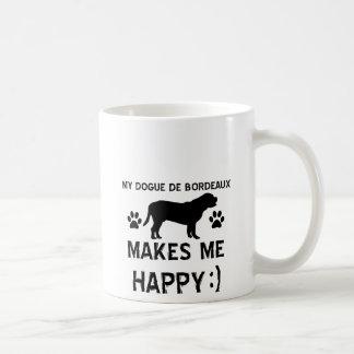 Dogue De Bordeaux dog designs Coffee Mug