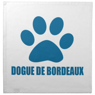 DOGUE DE BORDEAUX DOG DESIGNS NAPKIN
