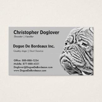 Dogue De Bordeaux - French Mastiff Business Card