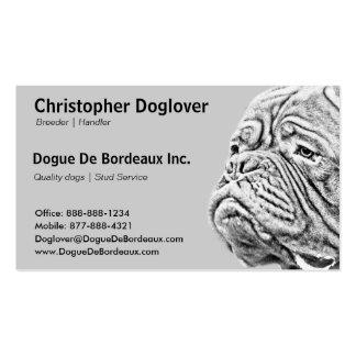 Dogue De Bordeaux - French Mastiff Business Cards