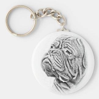 Dogue De Bordeaux - French Mastiff Key Ring