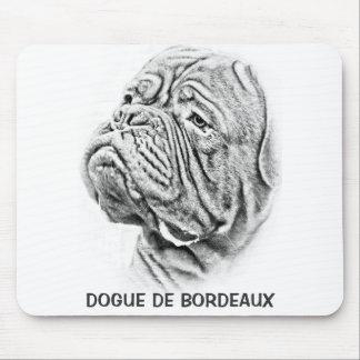 Dogue De Bordeaux - French Mastiff Mouse Pads