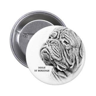 Dogue De Bordeaux - French Mastiff Pins