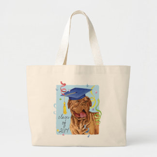 Dogue de Bordeaux Graduate Jumbo Tote Bag