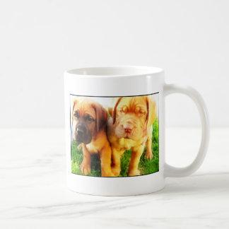 Dogue de Bordeaux puppies mug