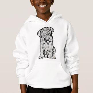Dogue de Bordeaux puppy kids sweatshirt