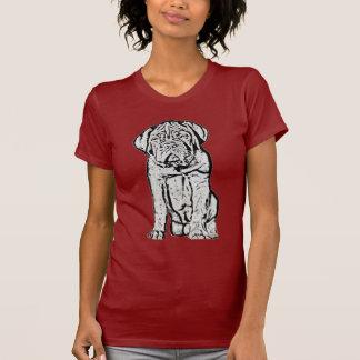 Dogue de Bordeaux puppy t-shirt