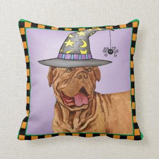 Dogue de Bordeaux Witch Cushion