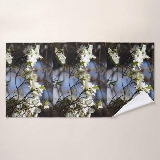 Dogwood Blossom Bath Towel Set