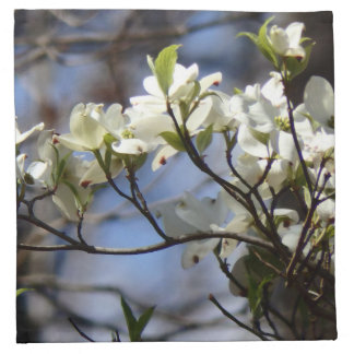 Dogwood Blossom Cloth napkins