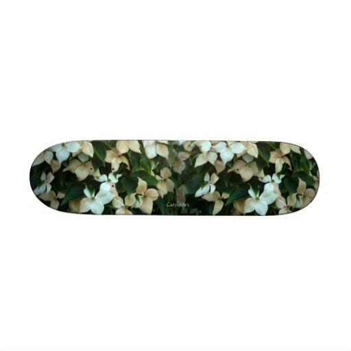 """Dogwood Blossom"" Skateboard"