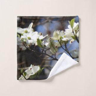 Dogwood Blossom Wash Cloth