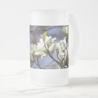 Dogwood Blossoms Large Frosty Mug