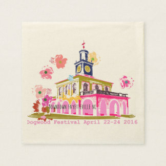 Dogwood Festival 2016 downtown Fayetteville NC Disposable Napkins