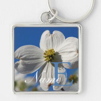 Dogwood Flower keychain