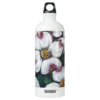 dogwood flower SIGG traveller 1.0L water bottle
