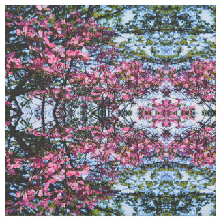 Dogwood flowering tree fabric