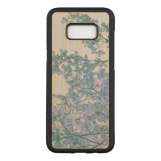 Dogwood Flowers Purple Lavender Tinted Nature Art Carved Samsung Galaxy S8+ Case