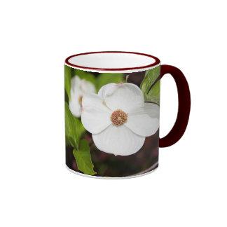 Dogwood Flowers Ringer Mug
