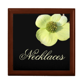 Dogwood Necklace Jewelry Gift Box