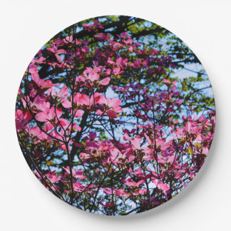 Dogwood Paper Plate