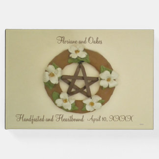 Dogwood Pentacle Handfasting Guest Book