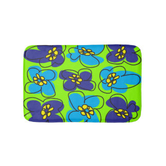 Dogwood Retro Mod Bathmat in Green