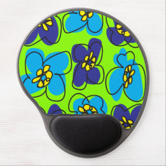 Dogwood Retro Mousepad in Spring Green