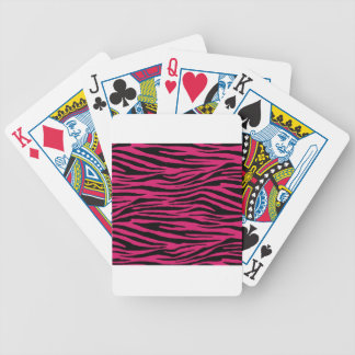 Dogwood Rose Tiger Bicycle Playing Cards