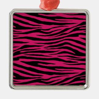 Dogwood Rose Tiger Metal Ornament