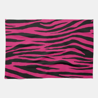 Dogwood Rose Tiger Tea Towel