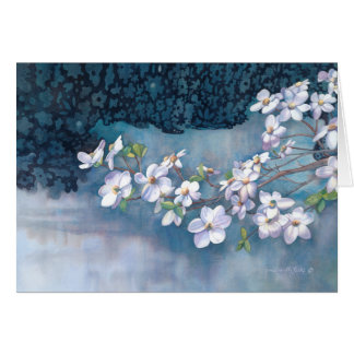 Dogwood sympathy card