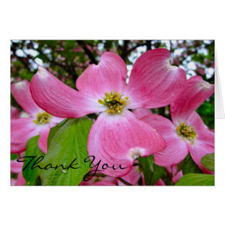 Dogwood Thank You Card