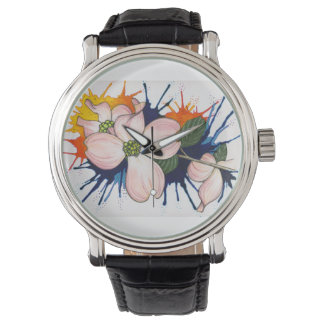 Dogwoods Full Colour Wristwatches
