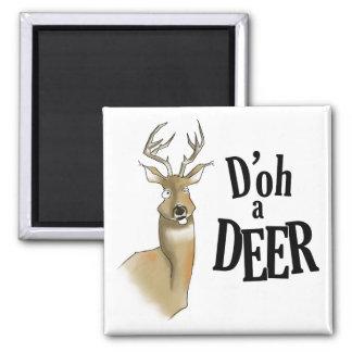 D'oh a Deer Magnet