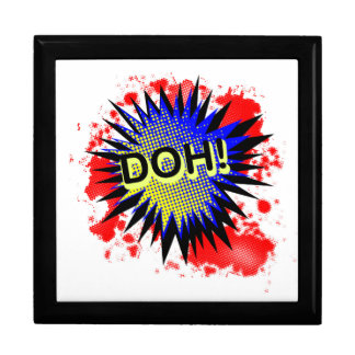 Doh Comic Exclamation Gift Box