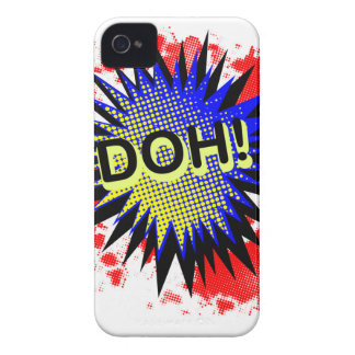 Doh Comic Exclamation iPhone 4 Case