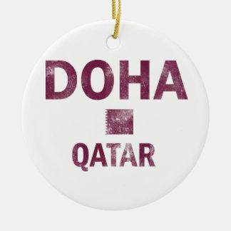 Doha Qatar designs Ceramic Ornament