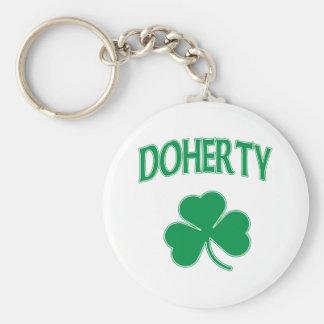 Doherty Shamrock Keychains