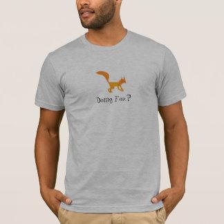 Doing Fox? Front - Mens T-Shirt
