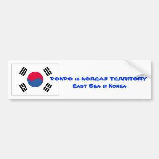 DOKDO Campaign Bumper Sticker