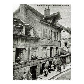 Dole; Maison Natale  de Louis Pasteur Vintage post Postcard