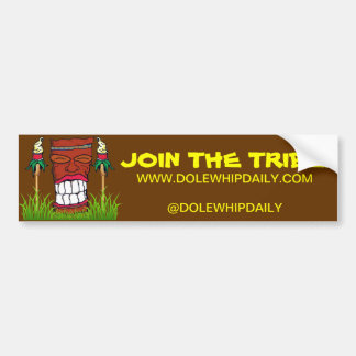 Dole Whip Daily Bumper Sticker