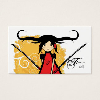 Doll Boutique Business Card