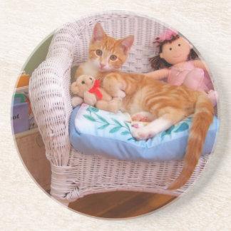 doll kitty sweet coasters