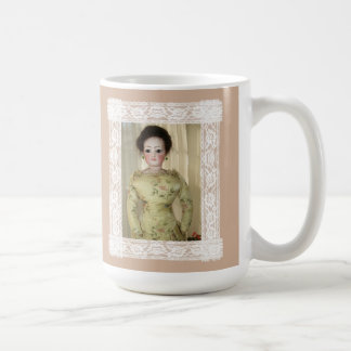 Doll Lovers Have More Fun French Doll Mug 15oz NEW