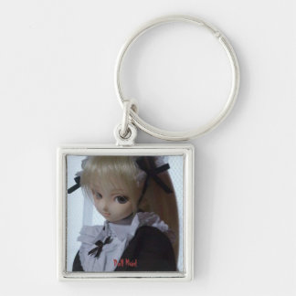Doll Maid - Premium Square Keychain
